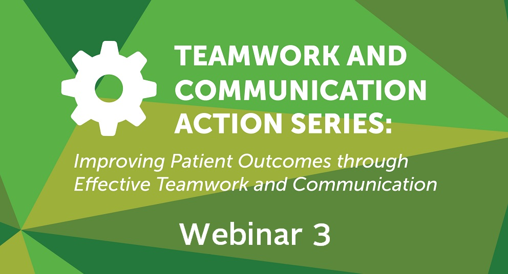 Teamwork & Communication Action Series Wave 1 – Action Period 3