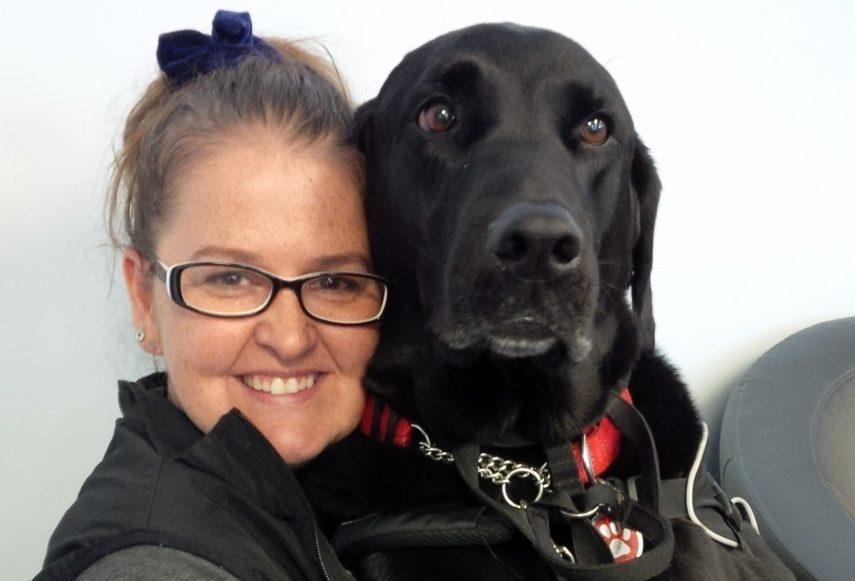 ShelleyLynn and her service dog Kenna