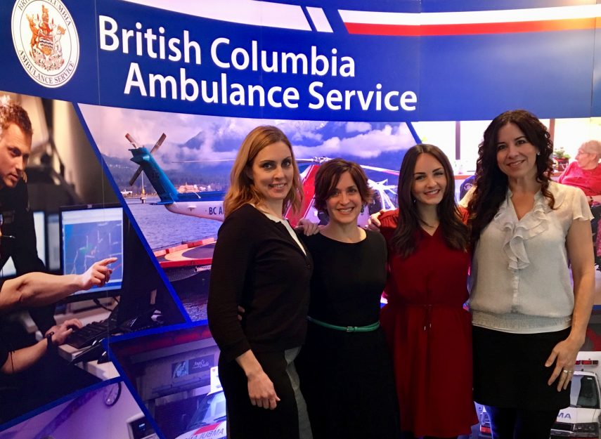 The BC Emergency Health Services Omega project team
