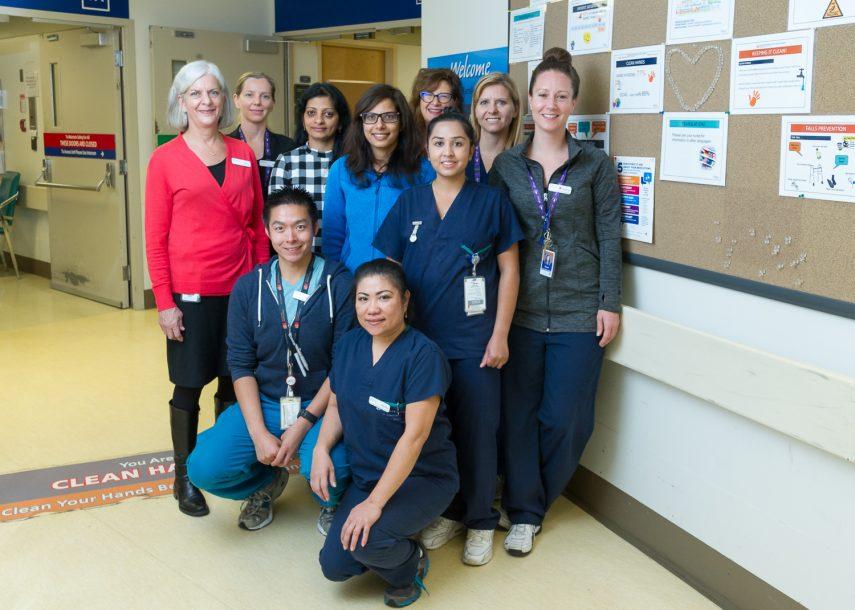 St. Paul's Hospital's HAUTI project team