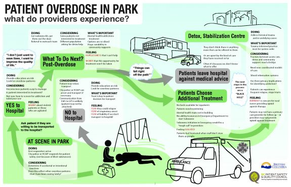 Provider Map Overdose in Park Case Study