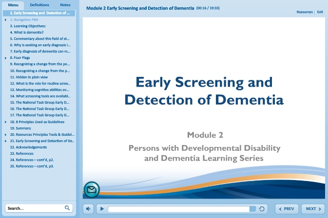 Early Screening & Detection of Dementia