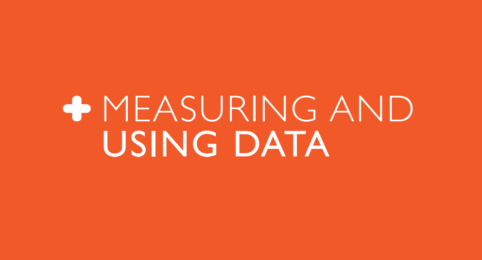Measuring and Using Data