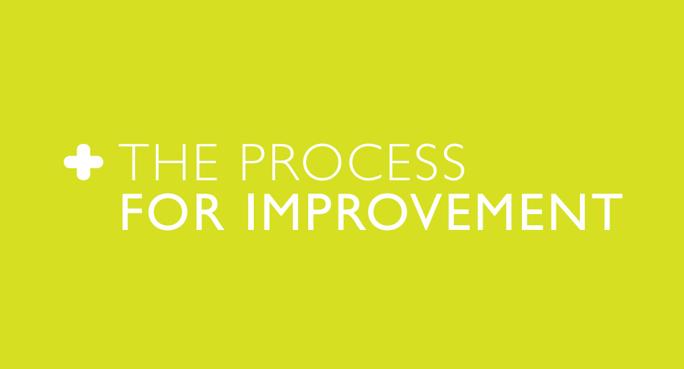 The Process for Improvement