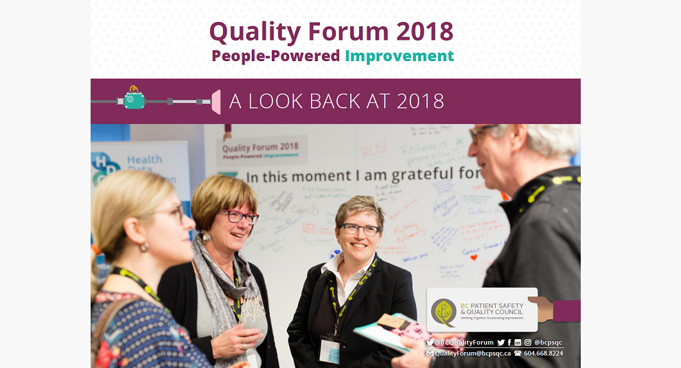 Quality Forum 2018 Report