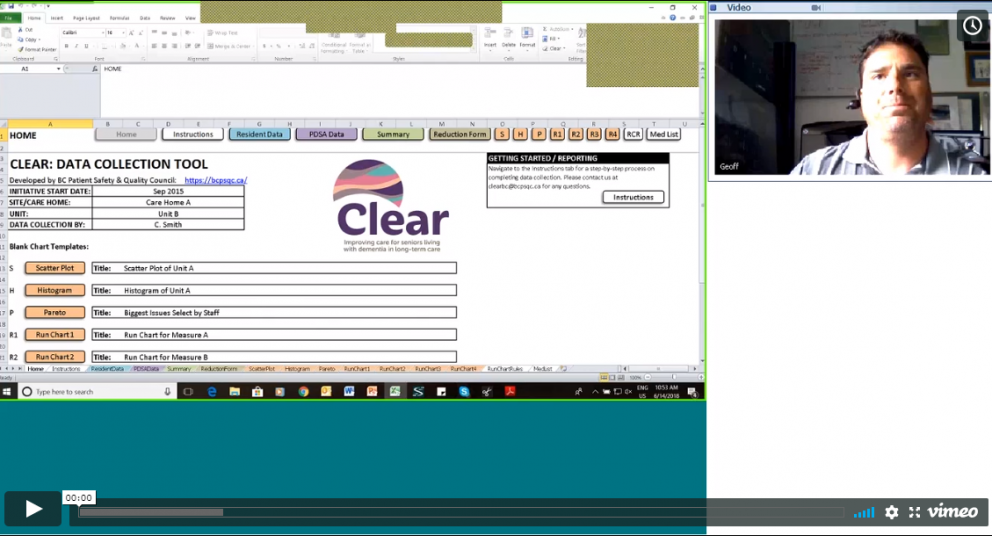 Webinar Recording: Capturing PDSAs in Your Spreadsheet