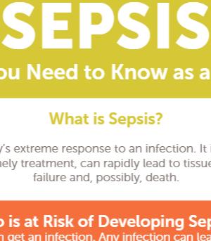 Sepsis infographic