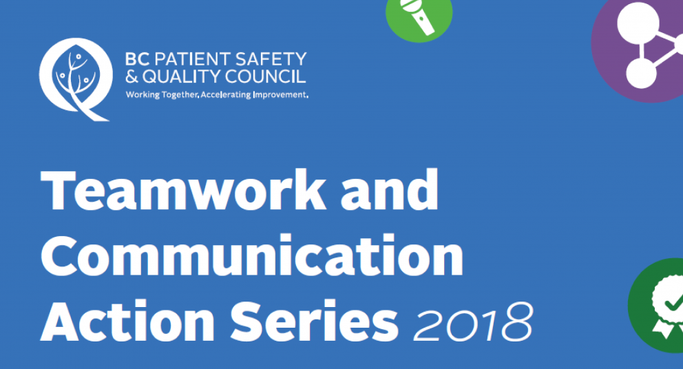 Teamwork & Communication Action Series: Wave 2 Evaluation