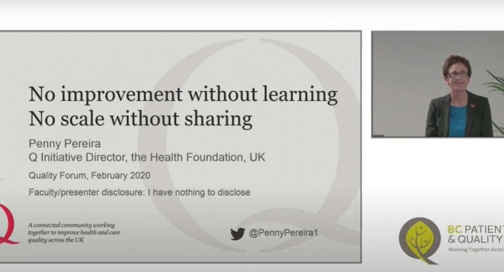 Penny Pereira: No Improvement Without Learning. No Scale Without Sharing.