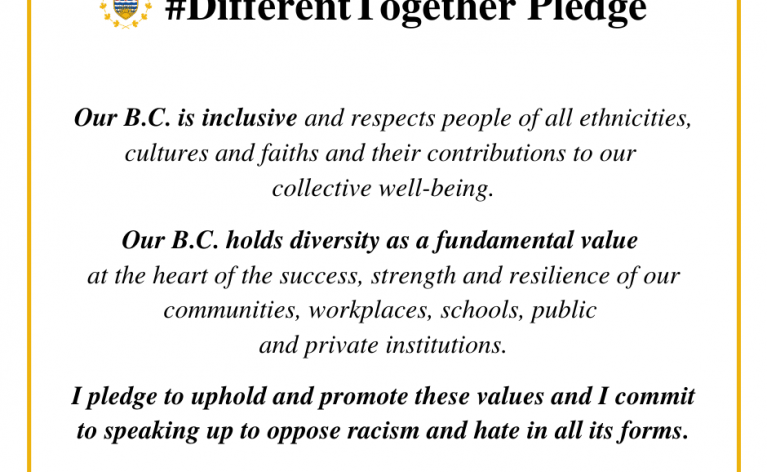 We Support #DifferentTogether