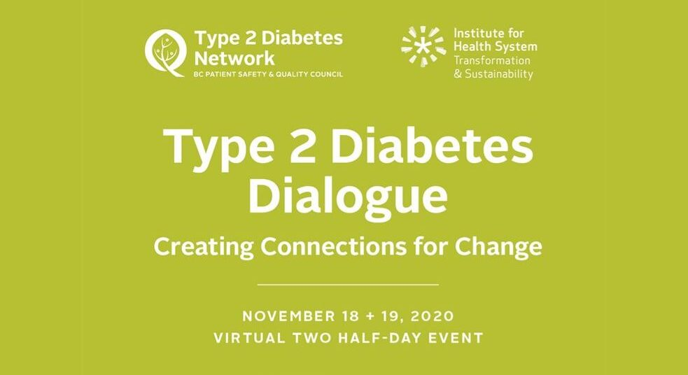 Type 2 Diabetes Dialogue 2020 – Creating Connections for Change