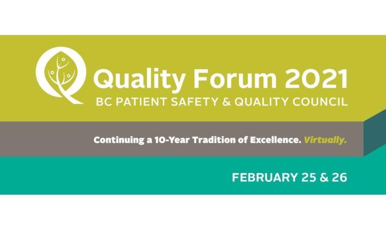 Patient Engagement at Quality Forum 2021