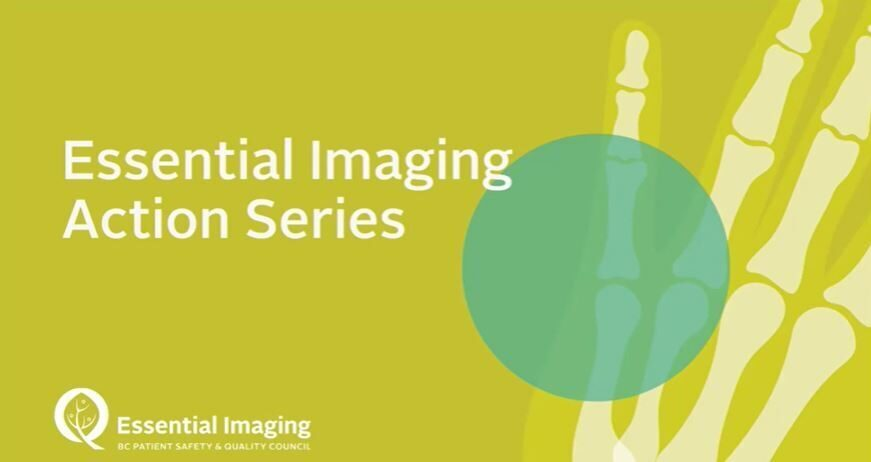 Essential Imaging: Real-Time Data to Drive Improvement